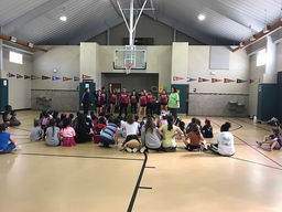 Dozens of Students Participate Waxahachie Cheer Camp