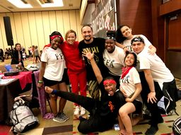 Dance Team Officers Attend Crowd Pleasers Camp