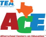 Texas Education Agency Afterschools Centers on Education logo