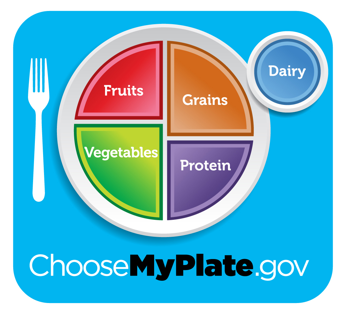 Choose my plate program logo